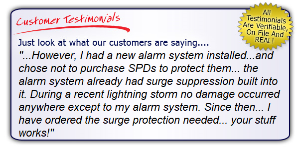 High Quality, High Performance Alarm System SPD Testimonial. Get the Right Gear!
