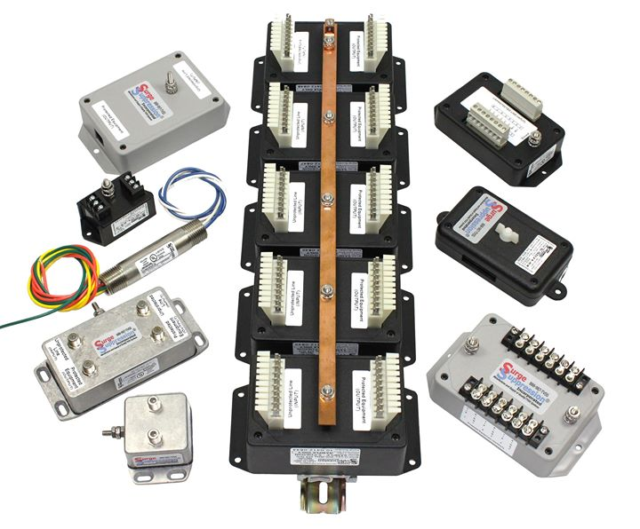High Quality, High Performance Data and Telephone Line Surge Protectors. Get the Right Gear!