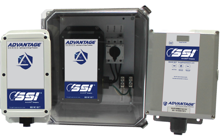 Advantage Series High Quality, High Performance Surge Suppressors. Get the Right Gear!