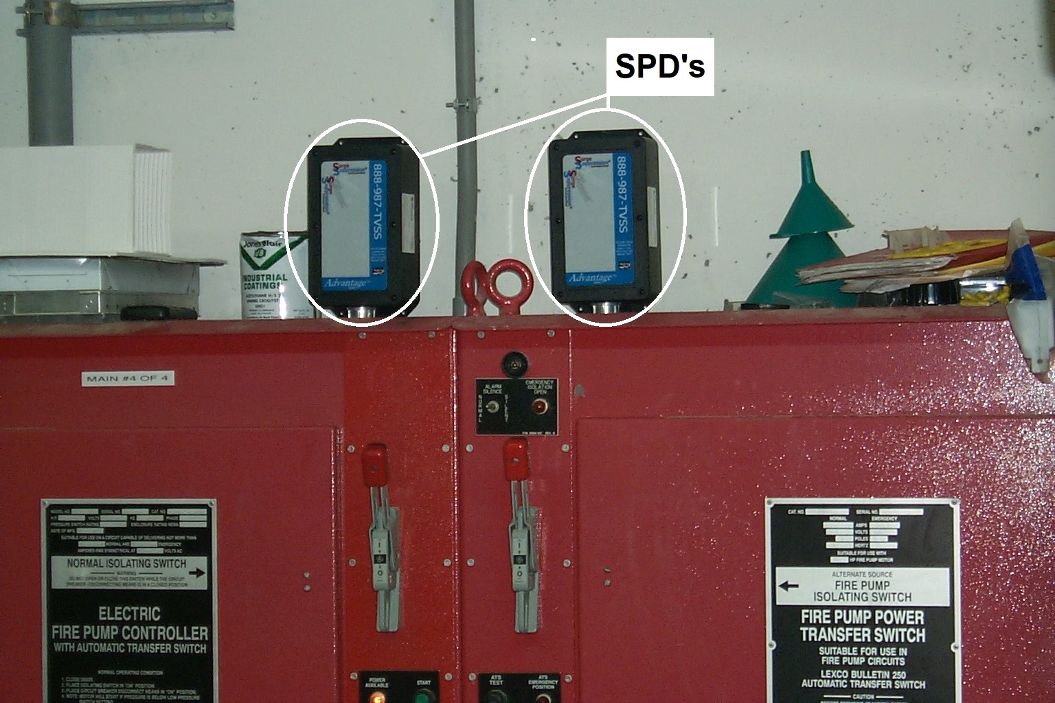 Fire Pump Controllers are sensitive and critical pieces of life-safety equipment that need to be protected with High Quality, High Performance SPD's. Get the Right Gear!