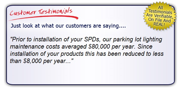 High Quality High Performance Commercial Grade Lighting Surge Suppressor Testimonial. Get the Right Gear!