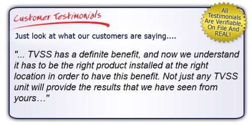 High Quality, High Performance Surge Protector Testimonial. Get the Right Gear!