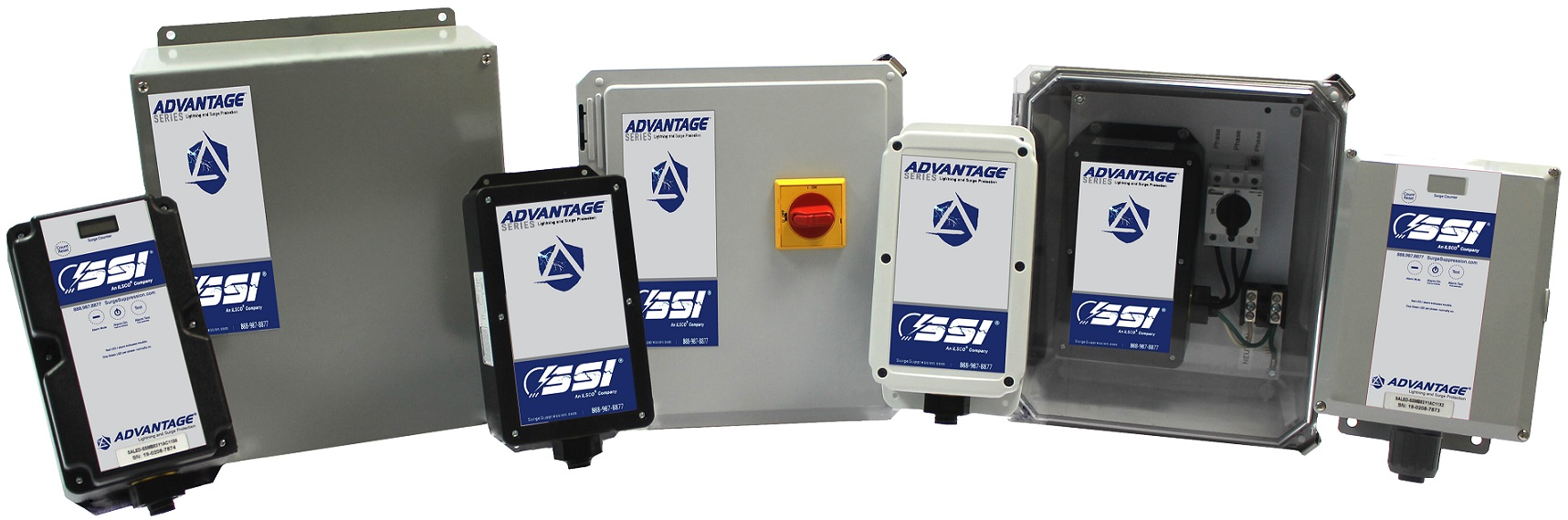 High Performance Access Control Panel 3-Phase Surge Suppressors. Get the Right Gear!