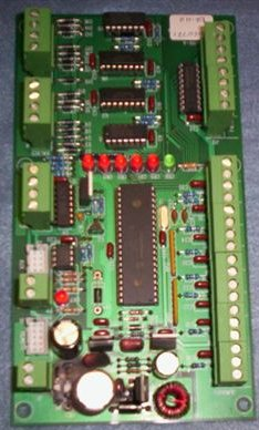 Blown circuit board