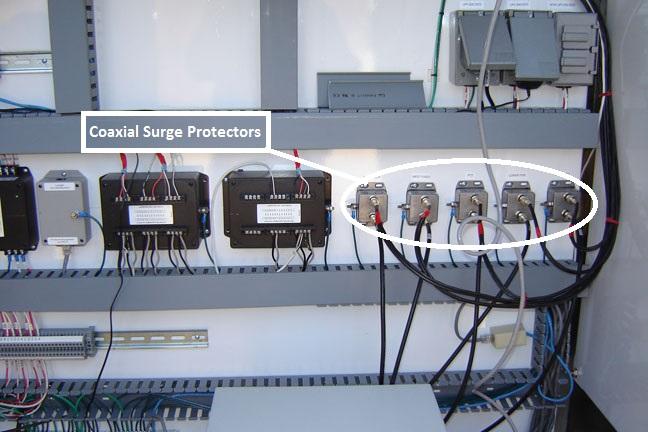 Coaxial Surge Protectors