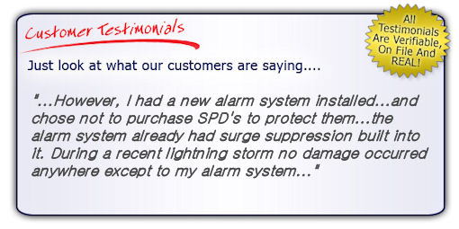 High Quality, High Performance Fire Alarm Surge Protector Testimonial