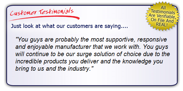 High Performance Surge Protector Testimonial. Get the Right Gear!