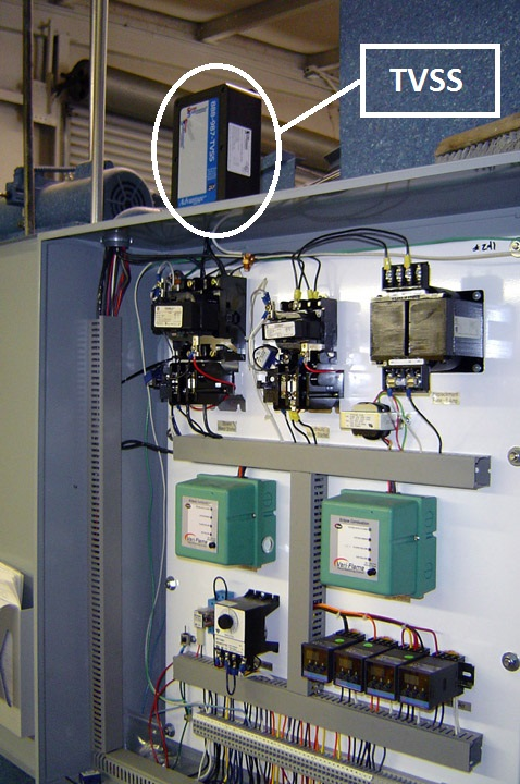 Protecting a Control Cabinet with a High Quality, High Performance Industrial Surge Protector.