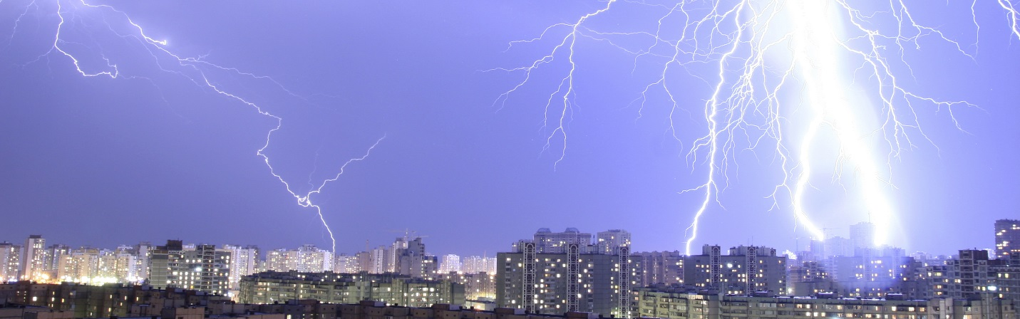 Nearby Lightning Strikes and Cloud to Cloud Lightning Can Be Very Damaging. Electronics and Electrical Systems are at Risk. Using High Quality, High Performance Surge Protectors Can Prevent Damage
