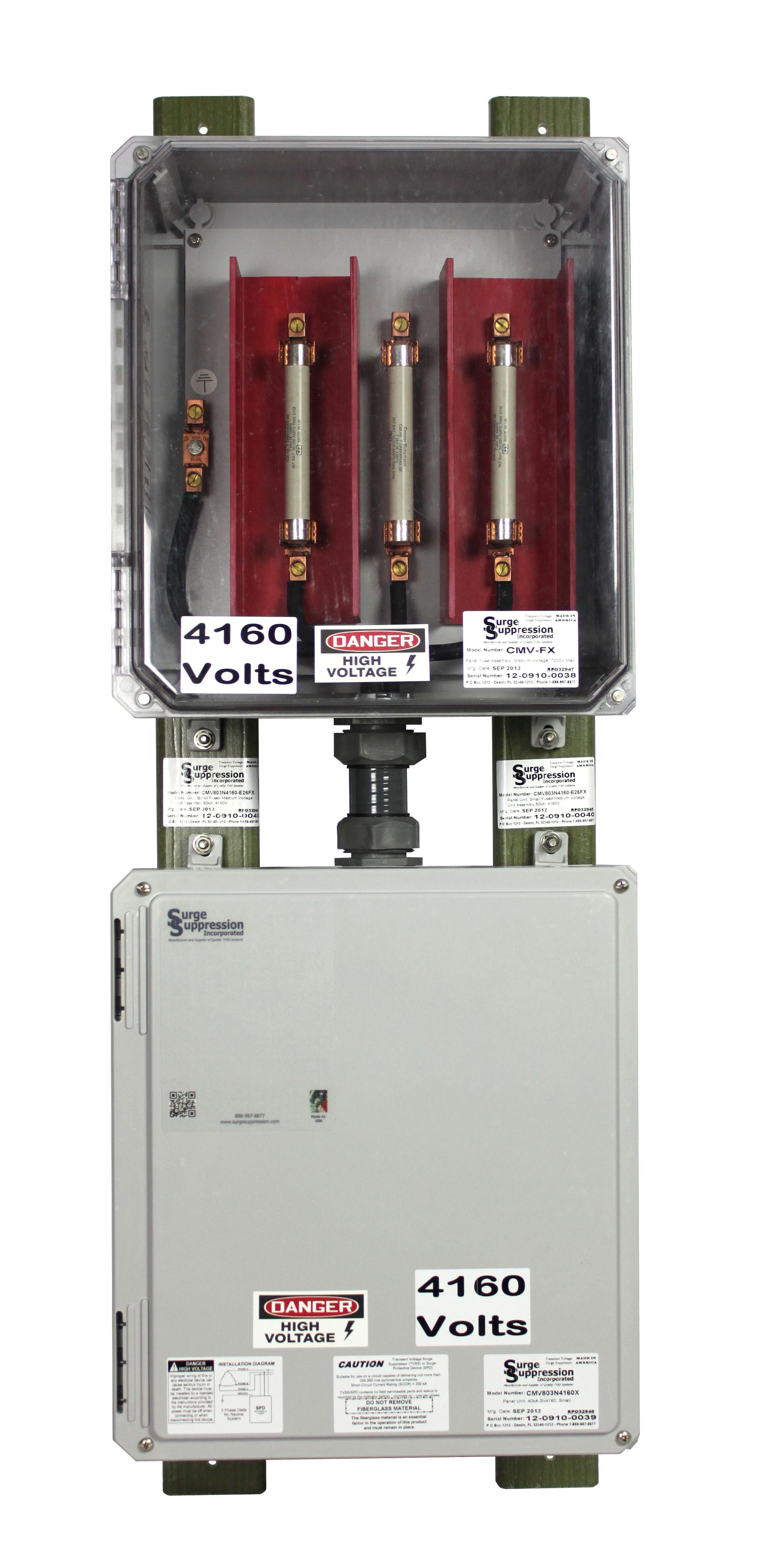 Medium Voltage Surge Protector