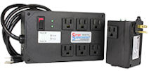 High Quality, High Performance, Plug-In Computer Surge Protectors. These Units Protect Against Damaging Voltage and Frequency Type Surges. Many SPD's Don't. Ours Do