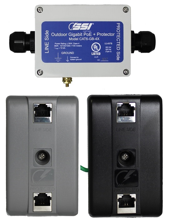 High Quality, High Performance Power Over Ethernet Surge Protectors