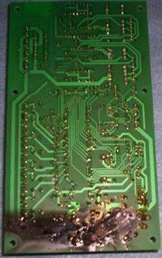 Lightning Damage - Blown Circuit Board